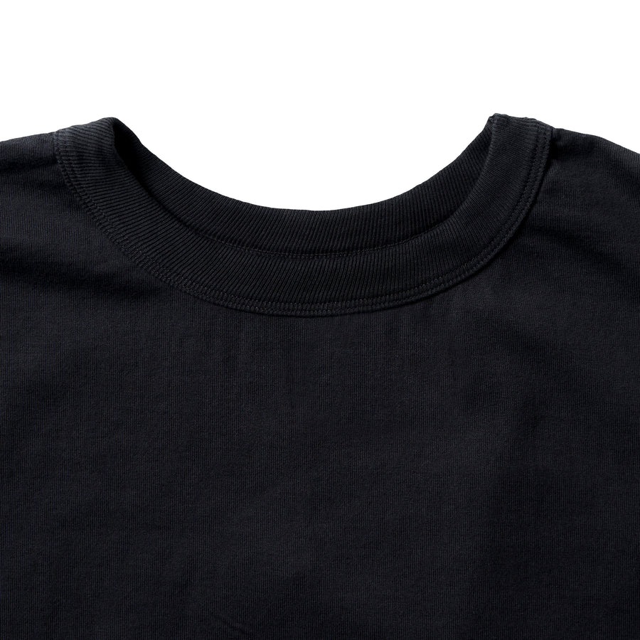 5222-20 - Flat Seam Heavyweight T-Shirt - Black