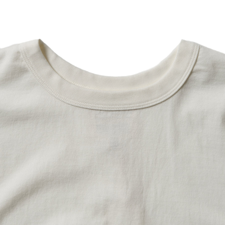 5222L-20 - Flat Seam Heavyweight Long Sleeve T-Shirt - White