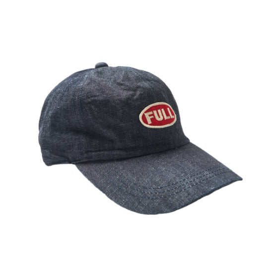 Denim Cap 'Full' Patch - Indigo Denim
