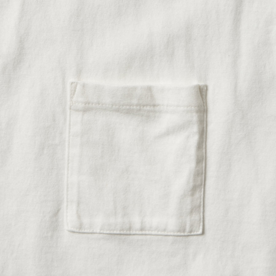 5805P-20 - Heavyweight Pocket T-Shirt - White