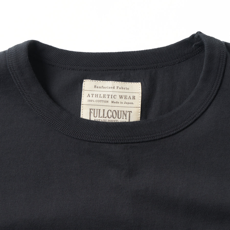 5805L-20 - Heavy Weight Long Sleeve Pocket T-Shirt - Ink Black