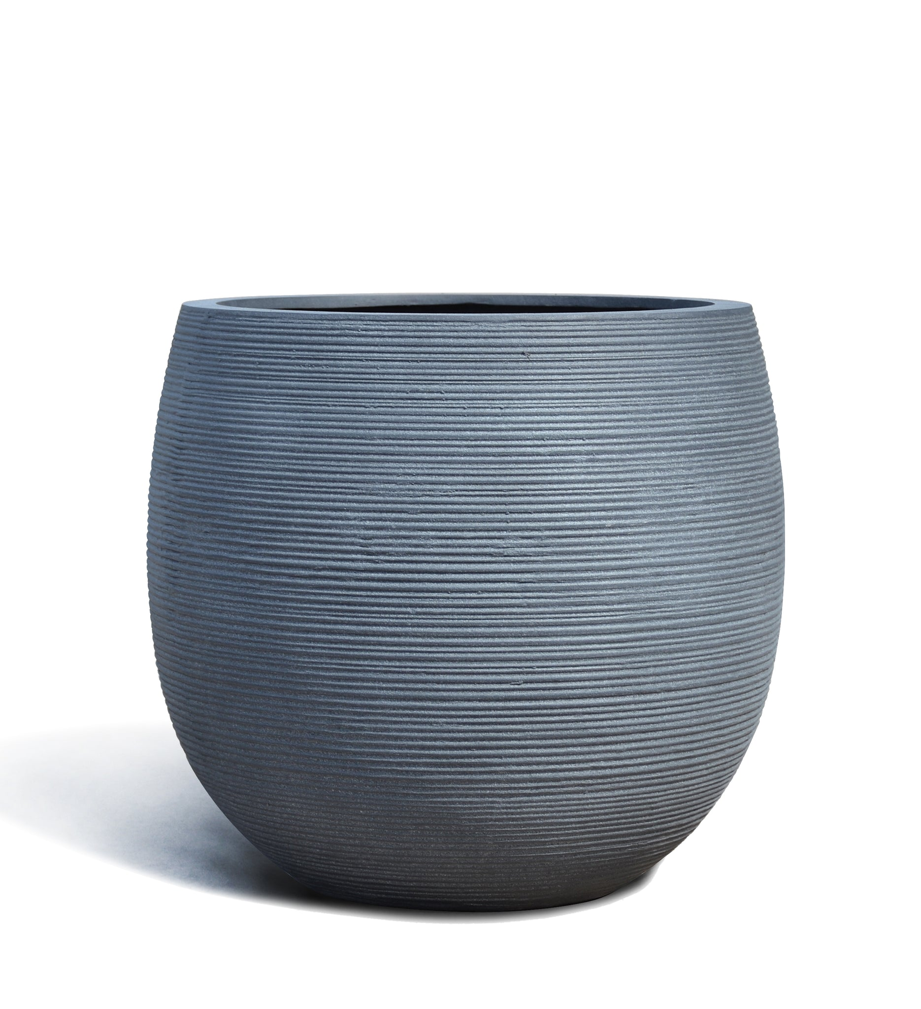 Textured Belly Planter Pot