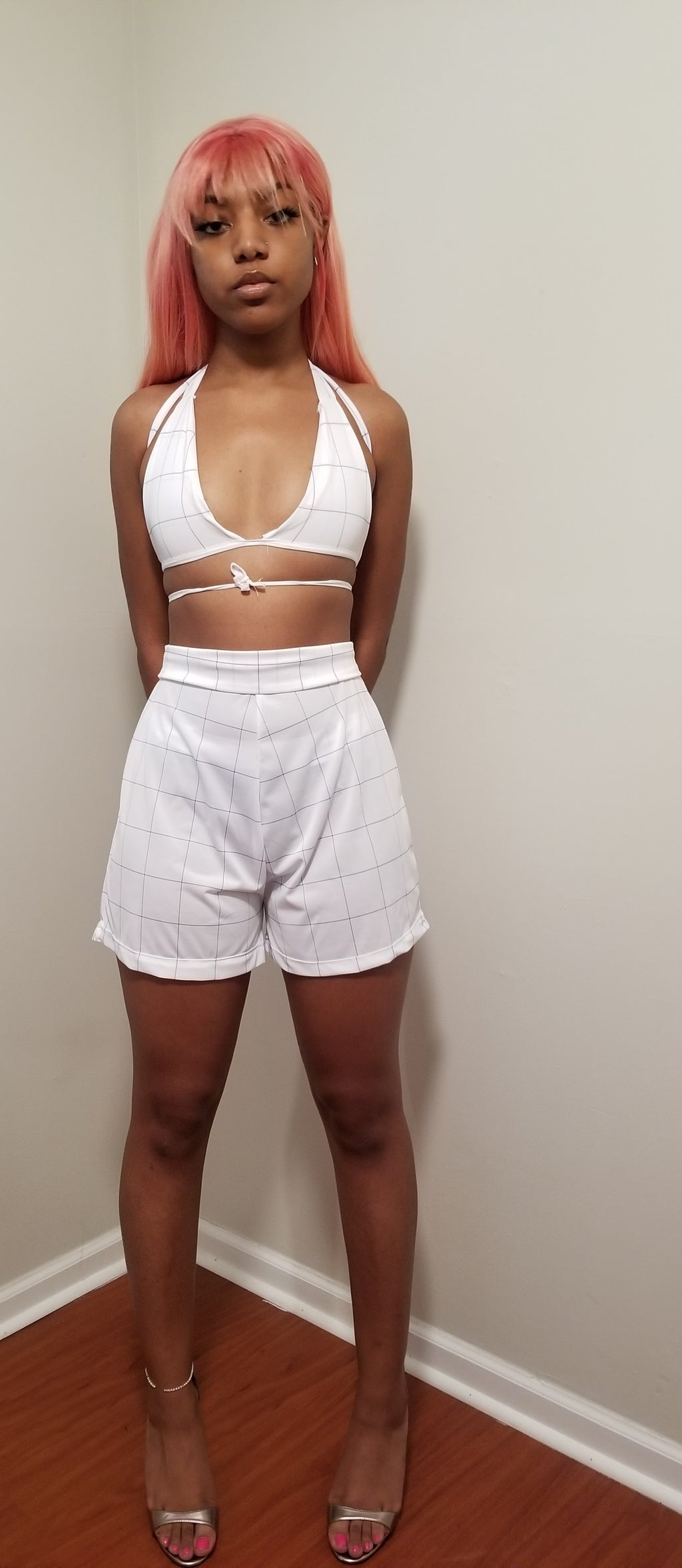 Plain Jane shorts set