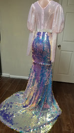 Fish scale gown