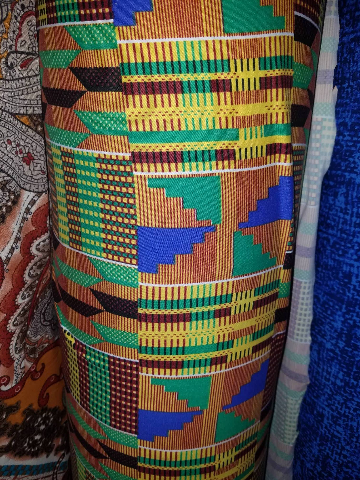 Kente cami dress