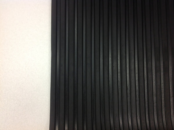 Wide Rib Rubber Matting 5mm x 2000mm (per metre)