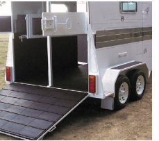 Horse Float Tailgate Mat 1550mm x 1750mm