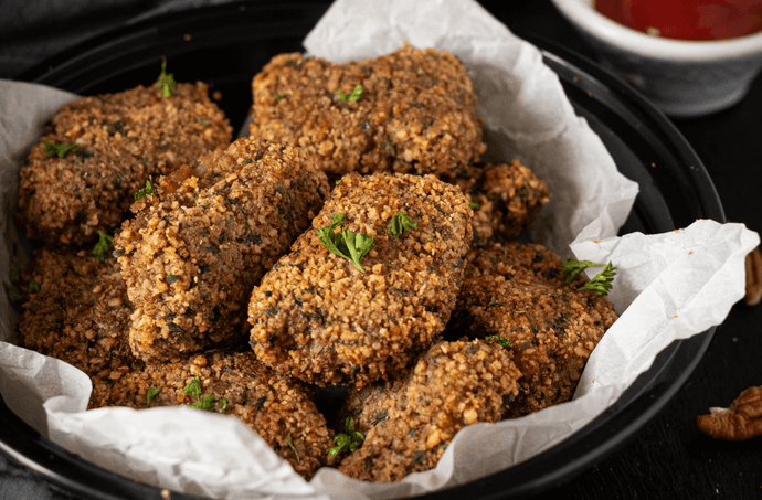 Pecan Crusted Baked Nuggets