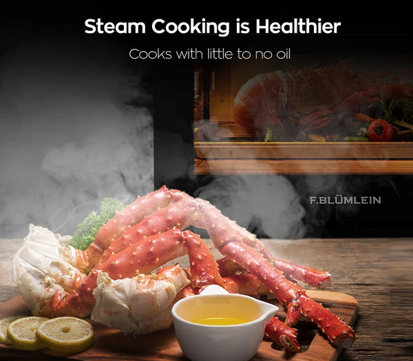 Steam Cooking is Healthier