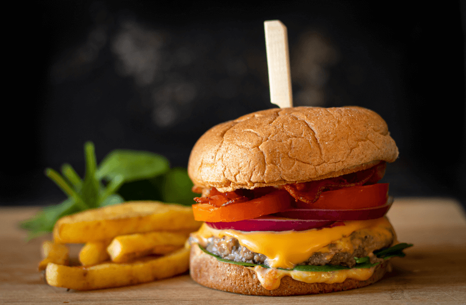 Bacon Cheese Burger Recipe