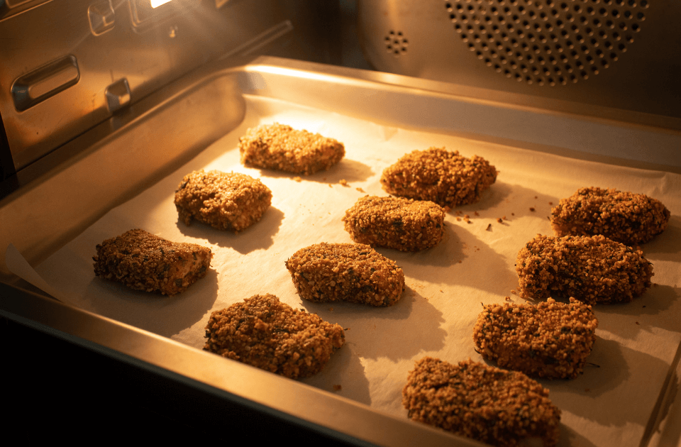Pecan Crusted Baked Nuggets Recipe
