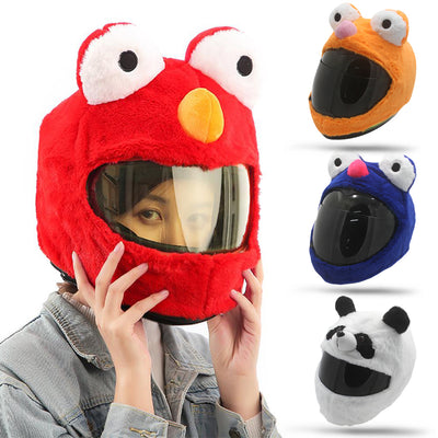 Animal helmet funny motorcycle helmets crazy panda frog cover Birthday Gifts New Year Party