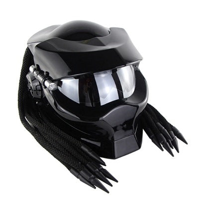Iron warrior man motorcycle helmets predator helmet full face safe black colorful