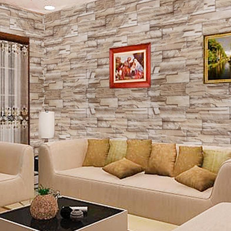Diy Materials 3d Brick Stone Pvc Self Adhesive Wall Sticker Panel Wallpaper Living Room Decor Home Furniture Diy Anwalt Bevensen De