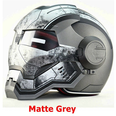 Marvel helmet superhero motorcycle helmets full face gray casque motocross