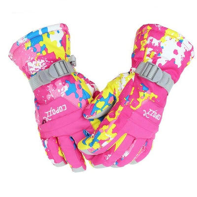 Snowboard gloves winter motorcycle climbing skiing skateboard snow gloves for adult
