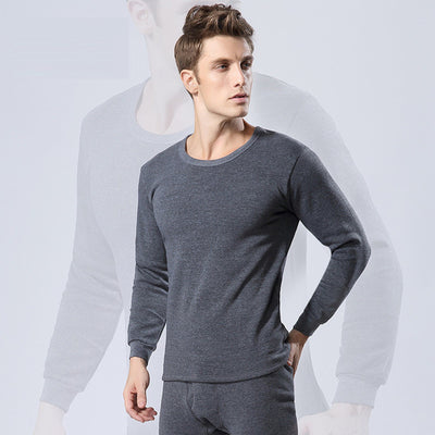 Sexy black thermal underwear sets for men clothes