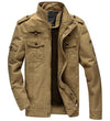 Jean military jacket for men army soldier cotton air force one male clothing spring autumn