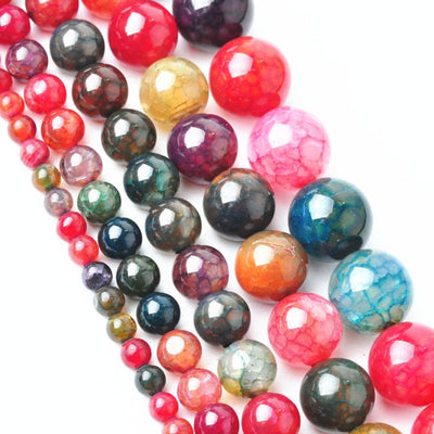Natural gemstone beads Tourmaline DIY jewelry making decoration crafts gift