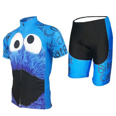 Cycling Jersey Bicycle Clothing Set Mens Summer Mtb Short Anti-sweat