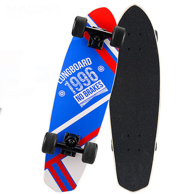 Professional skateboard longboard shark sport equipment riding complete 26 x 7""