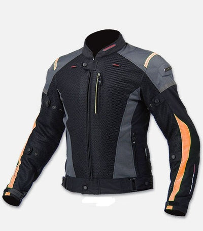Motorcycle jacket for men summer mesh breathable racing riding