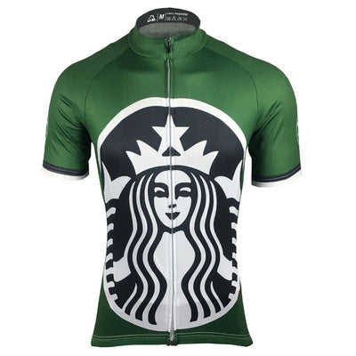 Cycling Jersey Racing Sportswear Bicycle Clothing Mens Short Sleeve