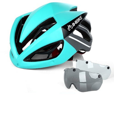 Bicycle Goggles Helmet Sunglasses 3 Lens Cycling Mountain Road Bike