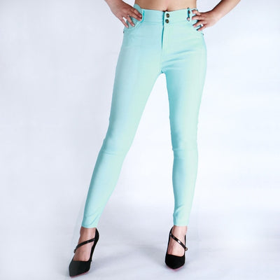 Skinny pants trousers push up pencil casual slim pants candy colour women fashion