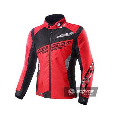 Motorcycle jacket motocross clothing protective armor combinations elbow shoulder back protector