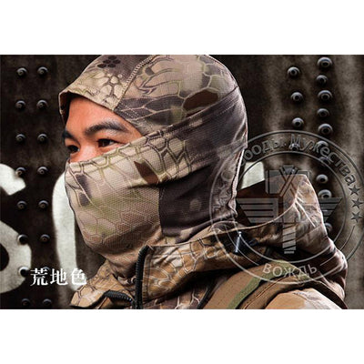 Military Tactical Hunt Full Face Mask Camouflage Paintball War Game
