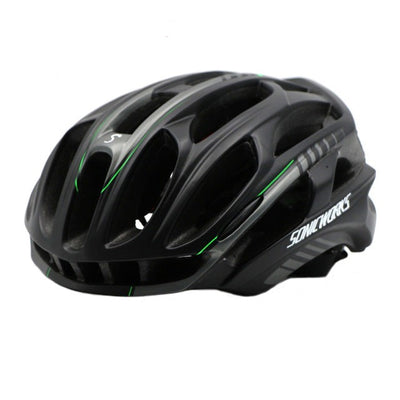 Bicycle Helmet Cycling MTB Mountain Road With LED Lights