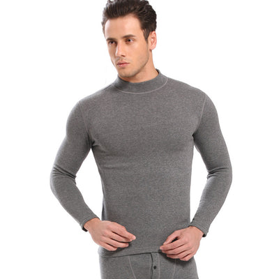 Thermal underwear sets for men shirt and pants warm thick clothes
