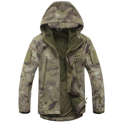 Army Camouflage Men Jacket Military Tactical Hunt Clothes Waterproof Soft Shell