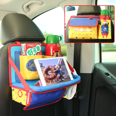 Car Organizer Backseat Babysitter Seat Back Storage for Kids