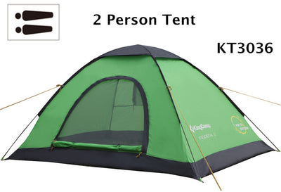Camping tent dome tent outdoor family camp for 2-3 persons