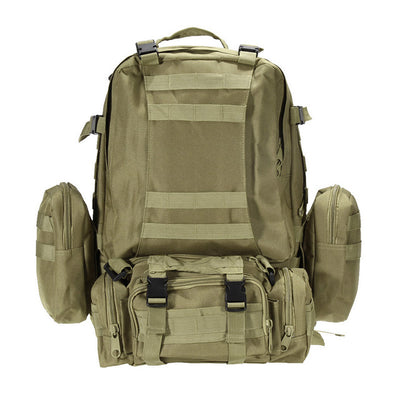 55L Large Camping Backpack Military Tactical bag Outdoor Hiking Hunting Sports