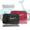 Vespa glove bag storage