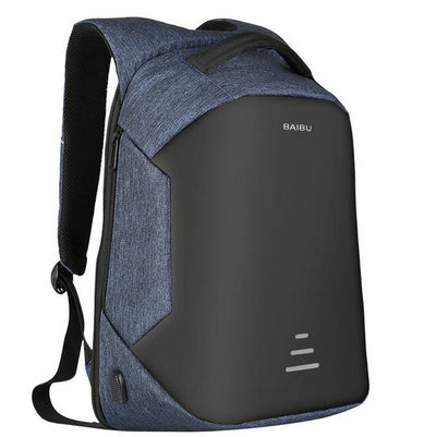 Men Backpack USB Charging for 15.6 inch Laptop Notebook Bag Travel Backpacks