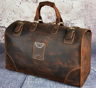 Luggage Bag Leather travel bags Large HandBag
