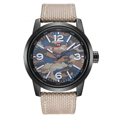 Army military men wristwatch canvas sport watches relogio masculino