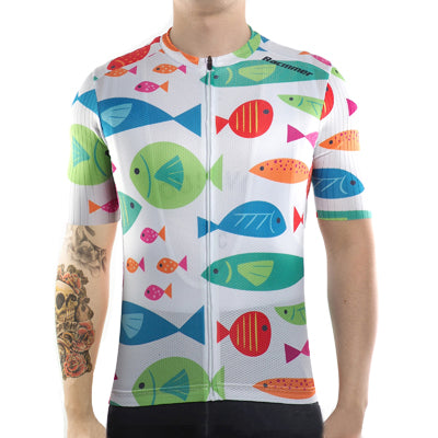 Cycling Jersey Bicycle Clothing Sportwear Short Sleeve for men