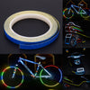 Bicycle roll of sticker reflective cycling
