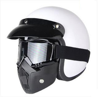 Vega helmet scooter motorcycle vintage 3/4 open face for biker