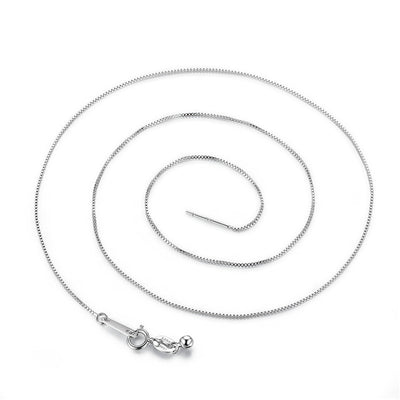 Necklaces 925 sterling silver link chains pendant charm for women luxury jewelry gift