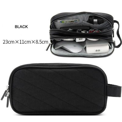Storage bag portable travel digital gadgets bags accessories organizer pouch