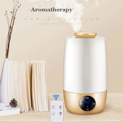 Aromatherapy ultrasonic air humidifier fogger aroma oil for home office