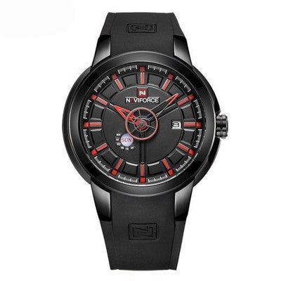 Sport men wristwatch army military watches rubber strap auto date reloj hombre saat