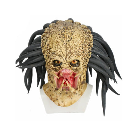 Predator helmet mask halloween cosplay costume full head for party holiday