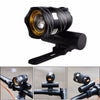 Bicycle light cycling front light lamp torch headlight LED with USB Cable Rechargeable